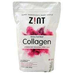 Zint Collagen - Hydrolyzed Collagen Types I & III (Grass Fed Beef) 32 oz