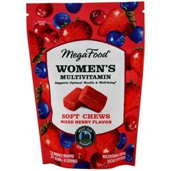 Megafood Women's Multivitamin - Soft Chews Mixed Berry 30 chews