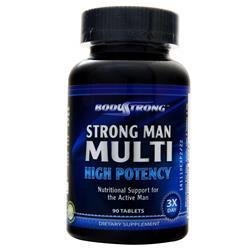 BodyStrong Strong Man Multi - High Potency 90 tabs