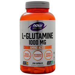 Now L-Glutamine (1000mg) 240 caps