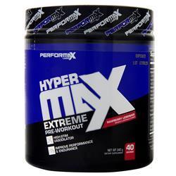 Performax Labs HyperMax Extreme Pre-Workout Raspberry Lemonade 340 grams