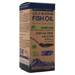 Wiley's Finest Wild Alaskan Fish Oil - Summit DHA Natural Lime 4.23 fl.oz