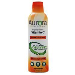 Aurora Nutrascience Mega-Liposomal Vitamin C Liquid Organic Fruit 16 fl.oz