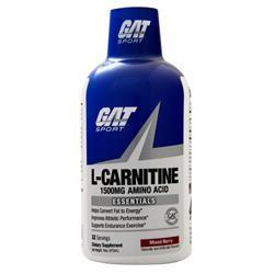 GAT L-Carnitine - Amino Acid Liquid (1500mg) Mixed Berry 16 oz