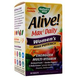 Nature's Way Alive! Max3 Daily Women's - Max Potency 90 tabs