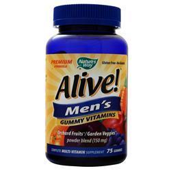 Nature's Way Alive! Men's Gummy Vitamins Fruit 75 gummy