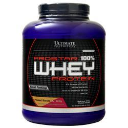 Ultimate Nutrition ProStar 100%  Whey Protein (Buy 1 get 1 Free) Strawberry 4 lbs