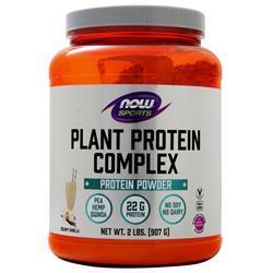Now Plant Protein Complex Creamy Vanilla 6 lbs