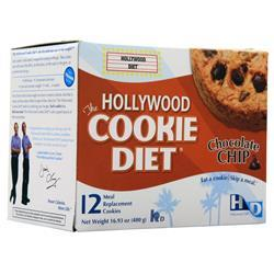 Hollywood Diet Hollywood Cookie Diet Oatmeal Raisin 12 count