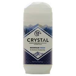 Crystal Mineral Enriched Invisible Solid Deodorant Mountain Fresh 2.5 oz