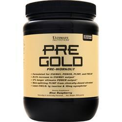 Ultimate Nutrition Pre Gold (Buy one Get one Free) Blue Raspberry 500 grams