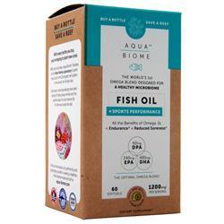 Enzymedica Aqua Biome - Fish Oil + Sports Performance Hint of Lemon 60 sgels