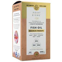Enzymedica Aqua Biome - Fish Oil (Maximum Strength) Hint of Lemon 120 sgels