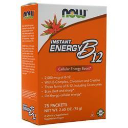 Now Instant Energy B12 75 pckts