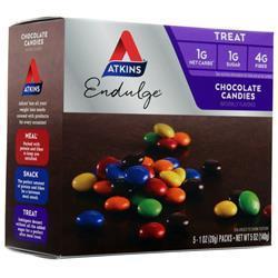 Atkins Endulge Candy Chocolate Candies 5 pckts