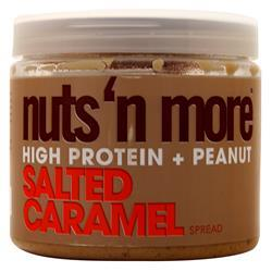 Nuts 'N More High Protein + Peanut Spread Salted Caramel 16 oz