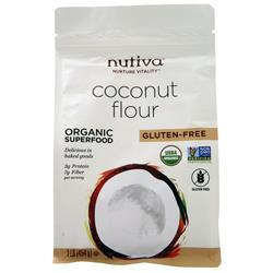 Nutiva Coconut Flour  BEST BY 1/27/20 1 lbs