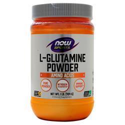 Now L-Glutamine Powder 454 grams