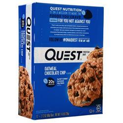 Quest Nutrition Quest Bar Oatmeal Chocolate Chip 12 bars