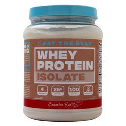 Eat the Bear Whey Protein Isolate Cinnamon Bun 1.6 lbs