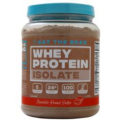 Eat the Bear Whey Protein Isolate Chocolate Peanut Butter 1.6 lbs