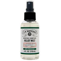 J.R. Watkins Relief Mist - Menthol Camphor 4 fl.oz