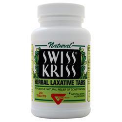 Swiss Kriss Herbal Laxative Tabs 250 tabs