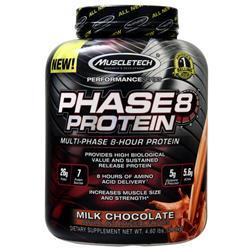 Muscletech Phase 8 - Multi Phase 8 Hour Protein Milk Chocolate 4.6 lbs