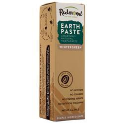 Redmond Life Earth Paste - Amazingly Natural Toothpaste Wintergreen 4 oz