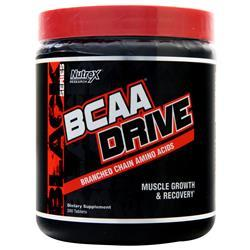 Nutrex Research BCAA Drive Black 200 tabs