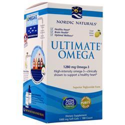 Nordic Naturals Ultimate Omega Lemon 180 sgels