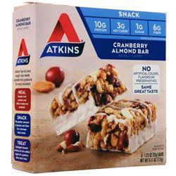 Atkins Snack Bar Cranberry Almond 5 bars