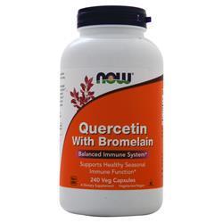 Now Quercetin with Bromelain 240 vcaps