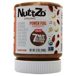 NuttZo Organic 7 Nut & Seed Butter - Power Fuel Smooth 12 oz