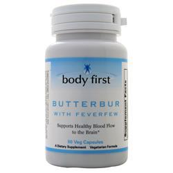 Body First Butterbur with Feverfew 60 vcaps