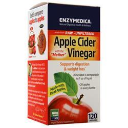 Enzymedica Apple Cider Vinegar with the Mother (355mg) 120 caps