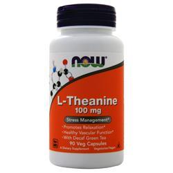 Now L-Theanine (100mg) 90 vcaps