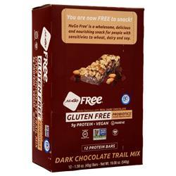 Nugo Nutrition NuGo Free Bar Dark Chocolate Trail Mix 12 bars