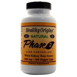 Healthy Origins Phase 2 Carb Controller - Natural 180 vcaps