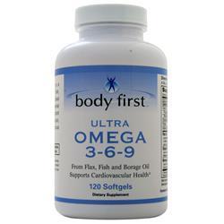 Body First Ultra Omega 3-6-9 120 sgels
