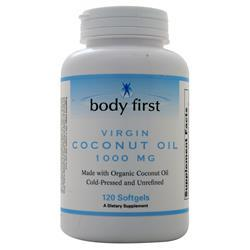 Body First Coconut Oil 120 sgels