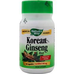 Nature's Way Asian Ginseng 50 caps