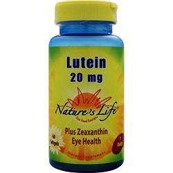 Nature's Life Lutein (20mg) 60 sgels
