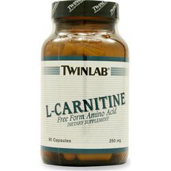 TwinLab L-Carnitine (250mg) 90 caps