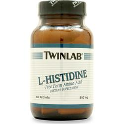 TwinLab L-Histidine (500mg) 60 tabs