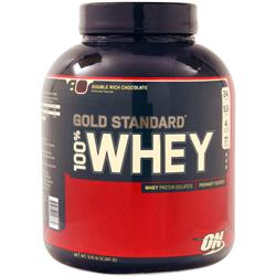 Optimum Nutrition 100% Whey Protein - Gold Standard Double Rich Chocolate 5 lbs
