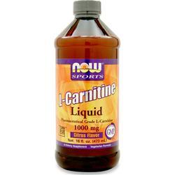 Now L-Carnitine Liquid (1000mg) Citrus 16 fl.oz