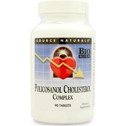 Source Naturals Policosanol Cholesterol Complex 90 tabs