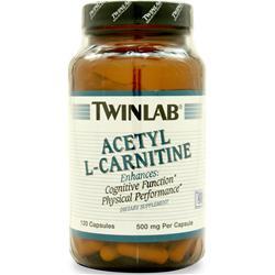 TwinLab Acetyl L-Carnitine (500mg) 120 caps