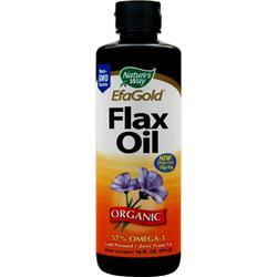 Nature's Way EFA Gold Flax Oil Organic 16 fl.oz